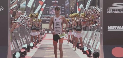 Blanchart va quedar en tercera posició a l'IRONMAN Barcelona del 2016