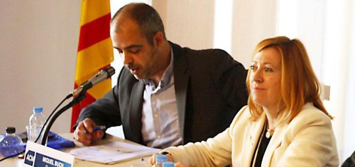 Miquel Buch i Montserrat Candini, dos dels candidats a entrar a la llista del partit