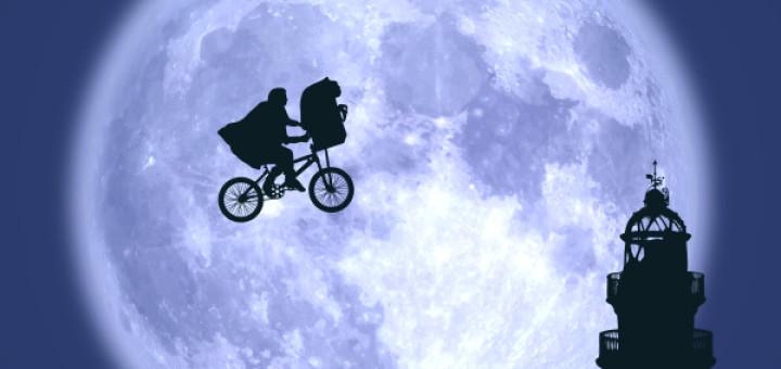 E.T. protagonitza el cartell de la cinquena edició del CFF, dedicat al cinema dels anys 80