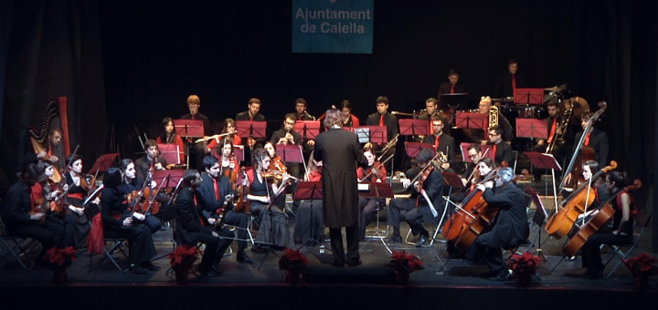 Imatge del concert de valsos i peces nadalenques del 2016