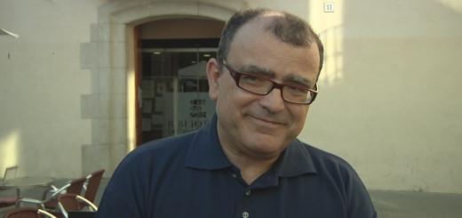 El desaparegut Jordi Amat i Teixidó en un acte celebrat a la Biblioteca Municipal