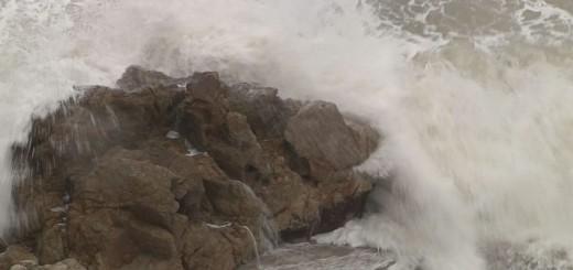 Imatge de la mala mar, aquest matí