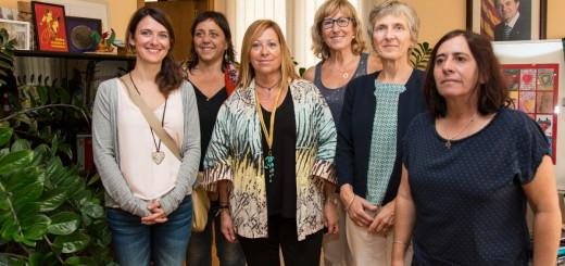 Candini amb membres de la Fundació Humana