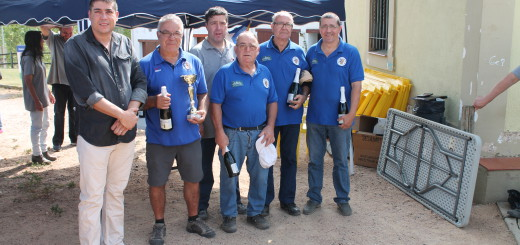 Equip de Gent de Barri de Pequin Campeon del Trufeo festa major de Sils-27-9-2015