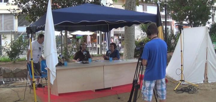 Ràdio Calella Televisió, a la Fira de l'any passat