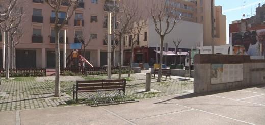 La plaça Vicenç Ferrer és una de les inversions de planificació de ciutat dels pressupostos participatius