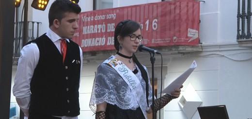 Lectura del manifest del Correllengua, 17/10/2015