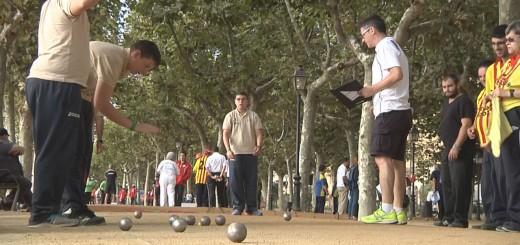 Petanca als Special Olympics, l'any passat