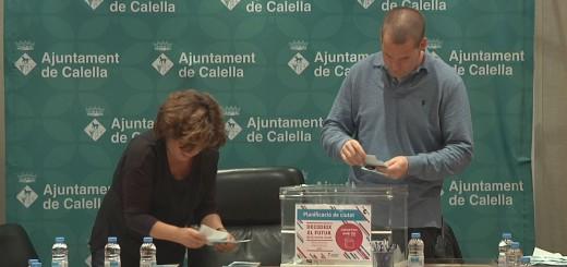 Recompte de vots dels pressupostos participatius, ahir a l'Ajuntament