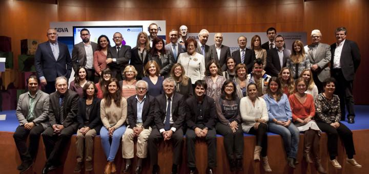 """Premiats i padrins de la convocatòria """"Territoris Solidaris"""""""