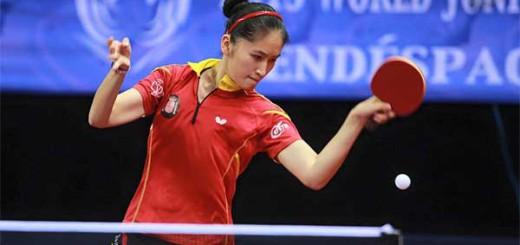 Sofia Xuan Zhang és jugadora del Suris Calella