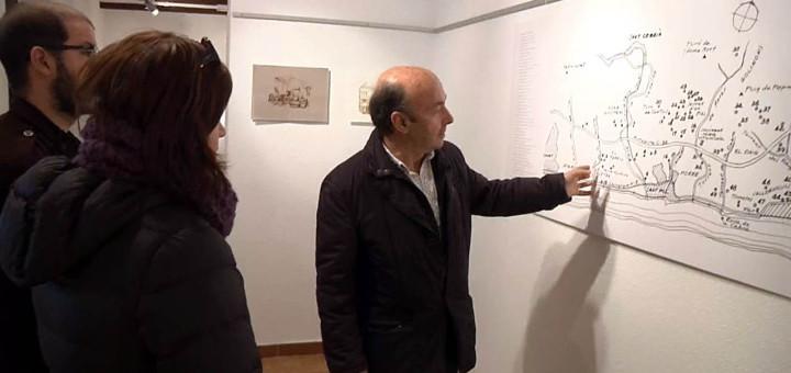 Dídac Raurell, a l'exposició
