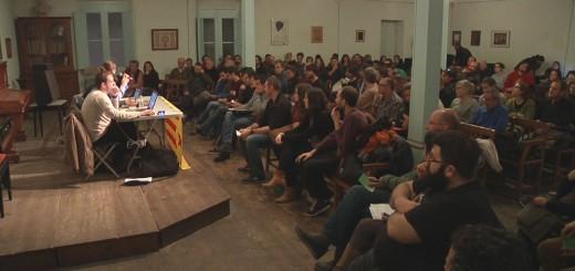 Assemblea territorial de la CUP a Calella