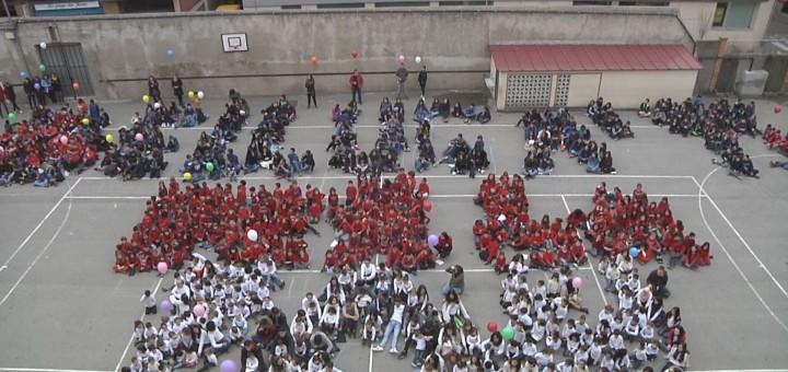 Celebració del DENIP a l'Escola Pia, l'any passat