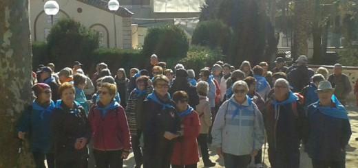 17022016 - El cicle de caminades 'A cent cap als Cent' arriba a Calella