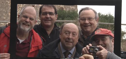 Els 5 presidents de la història de Foto Film, ahir diumenge