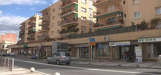 Eix comercial Sant Jaume, edifici Parkinsol