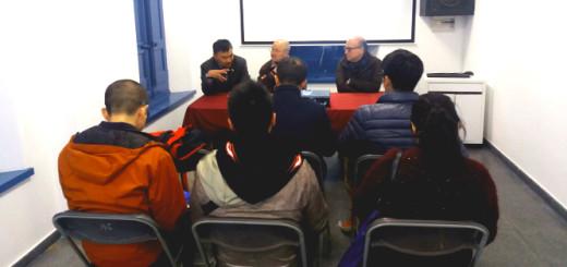 17032016 - Calella rep a cinc periodistes esportius xinesos - 1
