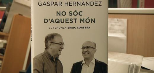 Portada del nou llibre de Gaspar Hernández