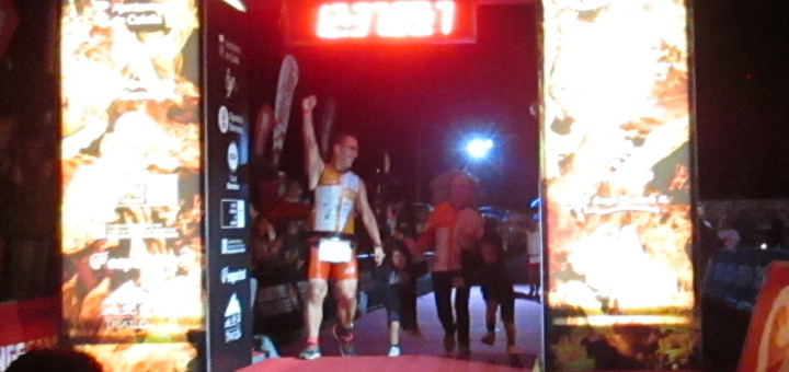 Ramon Arroyo a l'arribada del Challenge 2013, Font: IM4EM