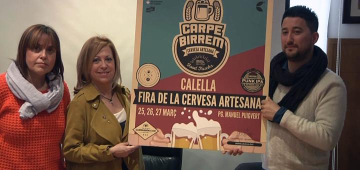 Montserrat Candini i Ausiàs Ballart durant la presentació del Carpe Birrem