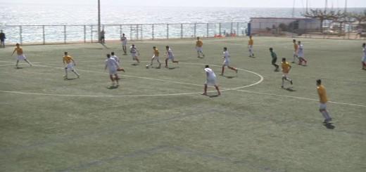 Partit de l'Aquahotel FC contra l'Arenys