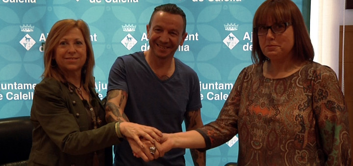Montserrat Candini, Carlos Díaz i Núria Parella, avui dimarts