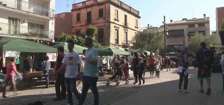 La plaça de l'Església, centre del Sidral Solidari 2016