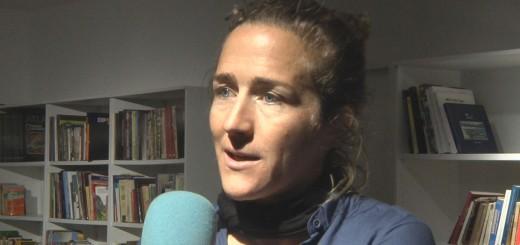 Núria Picas, ahir dilluns al Museu del Turisme