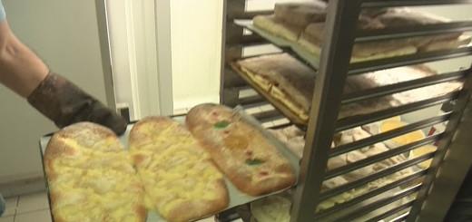 Coques de la Pastisseria Itchart, ahir dimecres