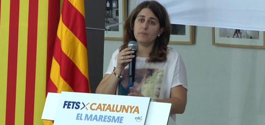 Marta Pascal, ahir a Calella