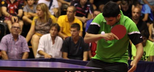 Imatge promocional del Campus Internacional de tennis taula