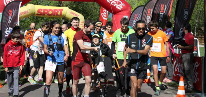 Participants a la cursa Sumant Capacitats de Llívia