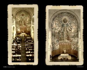 Interior de l'església de l'Escola Pia