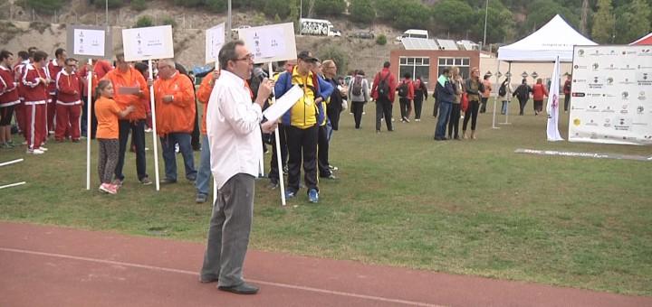 Participants al Jocs Catalans de l'Esport Adaptat a la Muntanyeta
