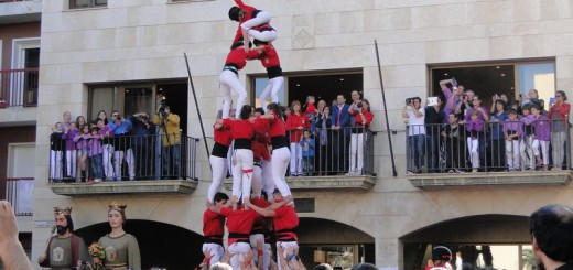 Balcons plens en un acte de Festa Major