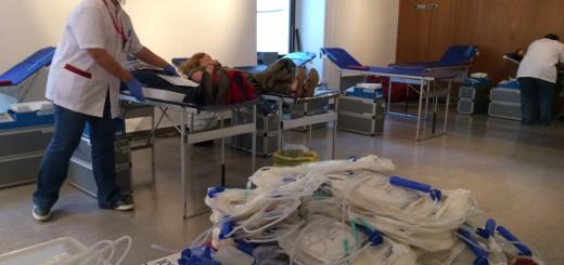L'Ajuntament Vell era la seu de la marató de donació de sang