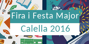 Fira i Festa Major Calella 2016