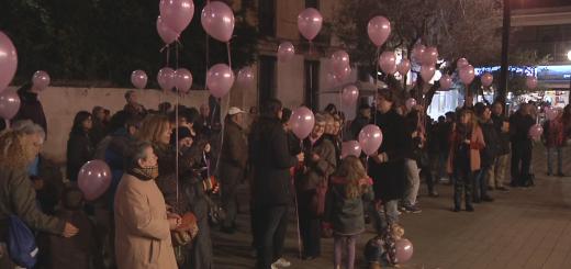Acte central del 25N a Calella del 2015