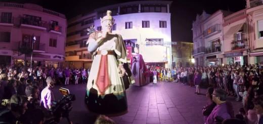 [VIDEO360] Ball Gegants Quirze i Minerva amb el Dia Mundial de la Televisió