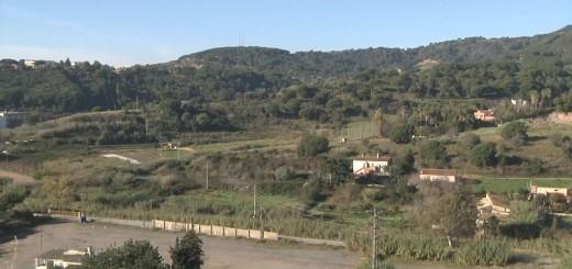 Imatge parcial dels terrenys inclosos a la zona urbanística Sud4