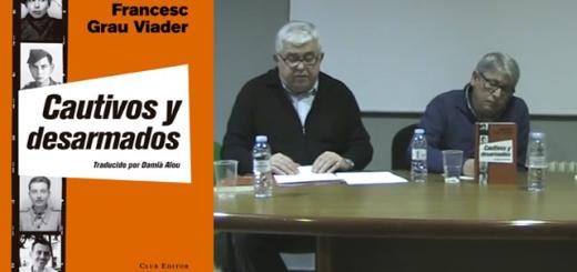 """Presentació a Miranda de Ebro de """"Cautivos y desarmados"""", de Francesc Grau i Viader"""