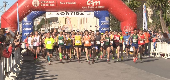 Sortida de la Mitja Marató Costa BCN-Maresme del 2016