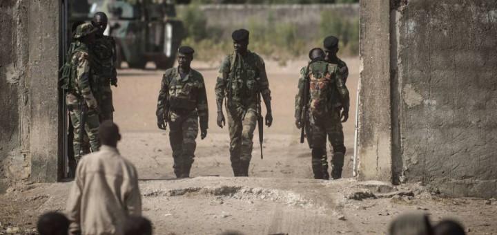 Soldats d'Unió Africana a Gàmbia - Font: El País