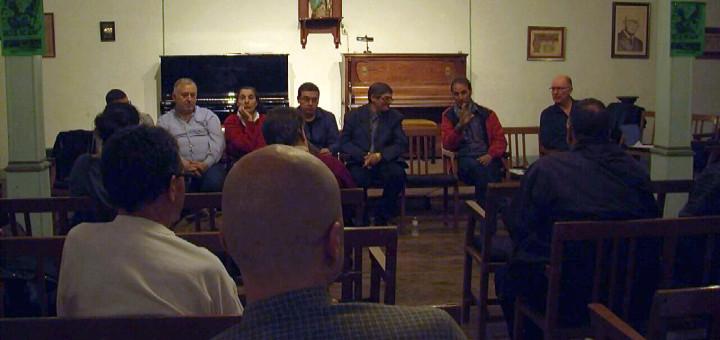 Presentació pública de l'associació Amics del Parc Dalmau, el novembre passat