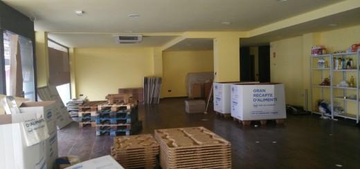 Local on Càritas Calella obrirà el nou espai per a l'entrega d'aliments