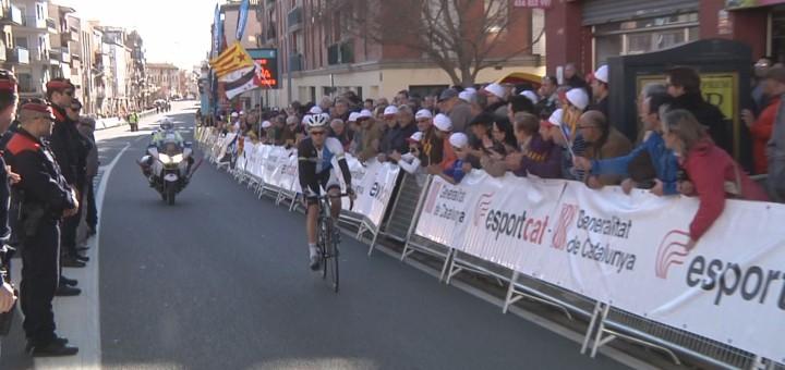 Arribada de l'edició 2013 de la Volta Ciclista a Catalunya