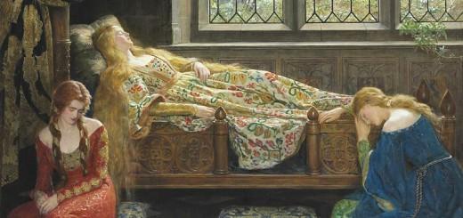 John_Collier_1929_-_Sleeping_Beauty
