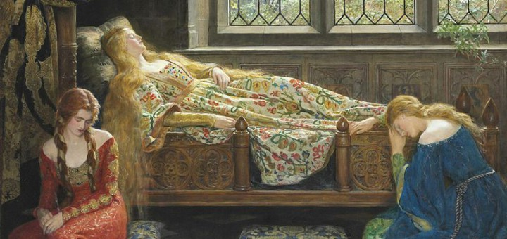 John_Collier_1929_-_Sleeping_Beauty