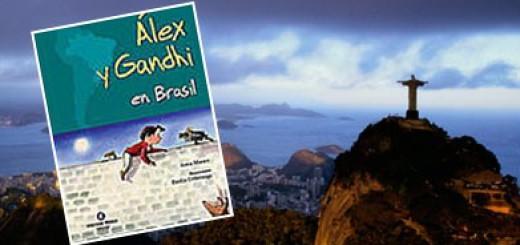 Àlex i en Gandhi al Brasil